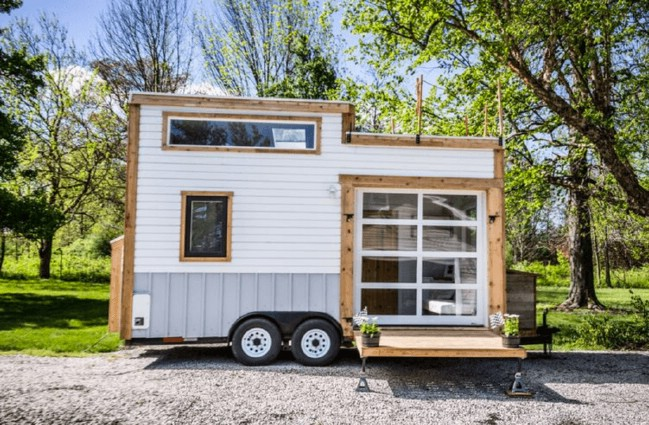 Gorgeous and trendy 200 square foot tiny house for sale for 18 ft garage door for sale