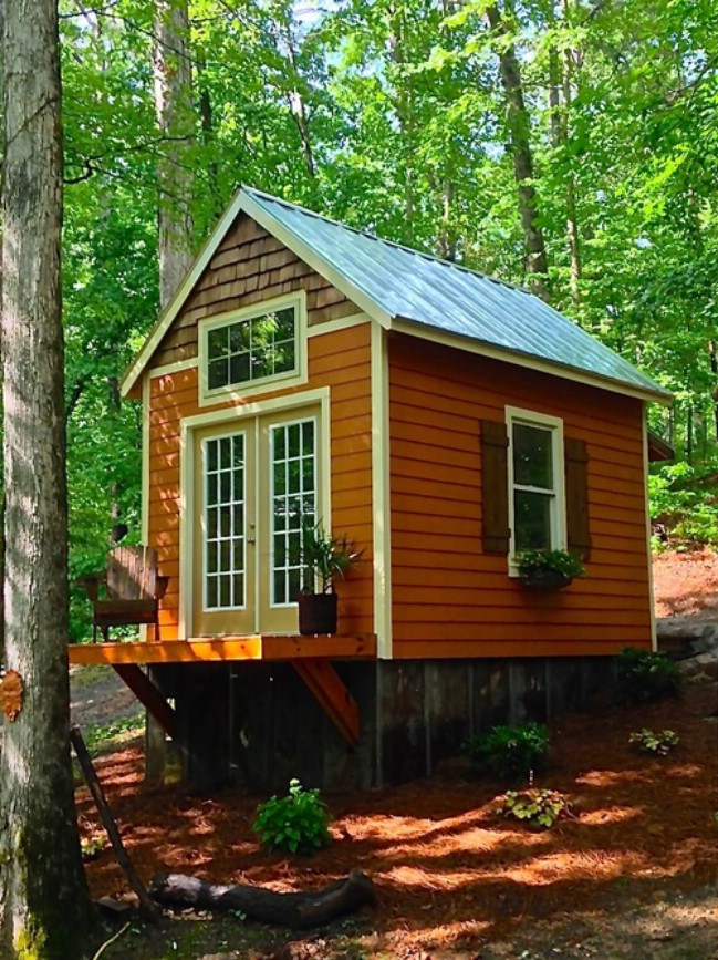 cute tiny house blueprints. The tiny house is roughly 250 square feet and has charming details on the  outside tall ceilings inside Chicken Coop Builder Transitions to Tiny Houses We re in Love