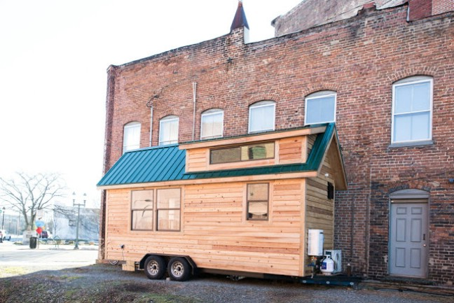 160 Square Foot Lindley Tiny House