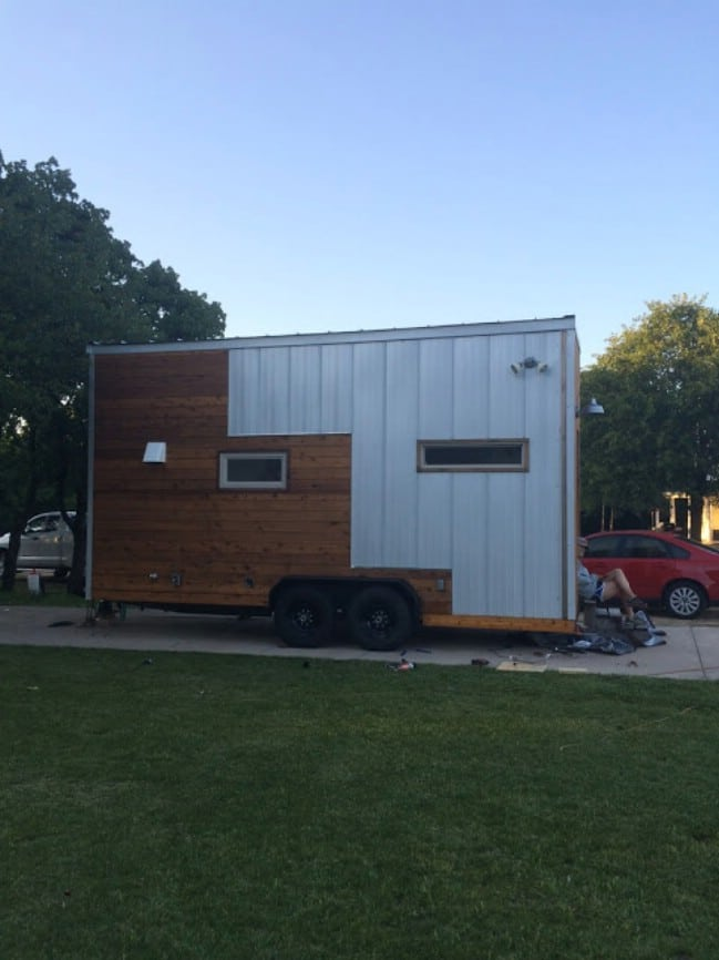 The Skinny Tiny House by Small Dwellings Company for Sale at $30,000