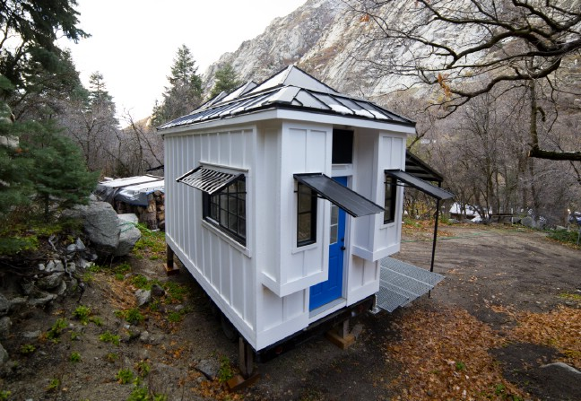 Utah Family Builds 192 Square Foot Home To Use As Income Property