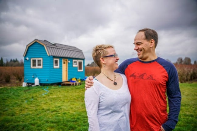 Vancouver Couple Get Around Sky-High Home Costs by Building Tiny House for $30k
