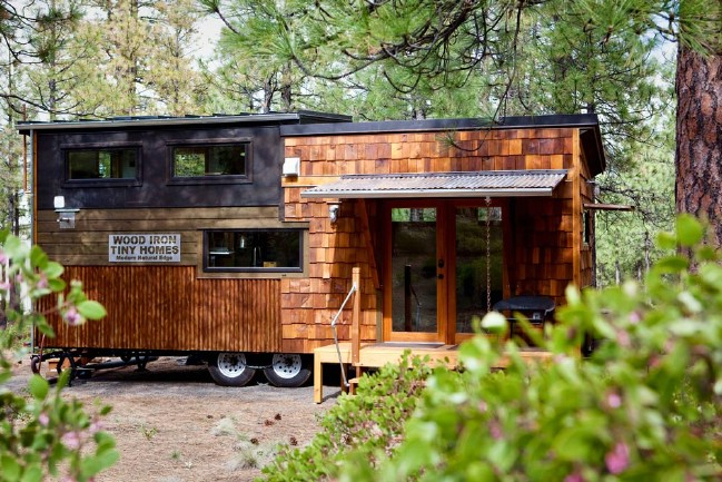 Wood Iron Tiny Homes Unveils Their First Tiny House and it's Impressive