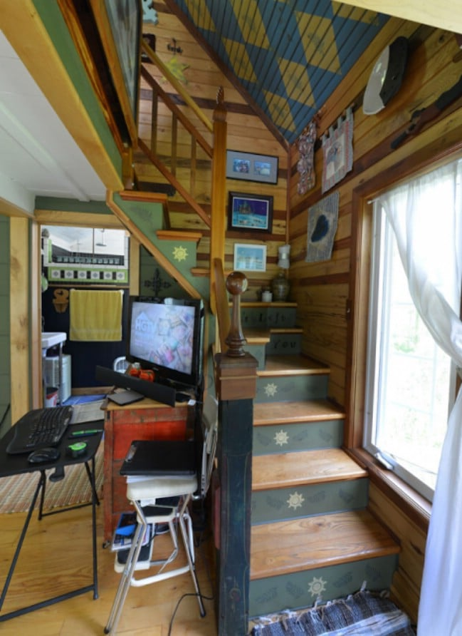 Ohio Couple Spend Six Years Building Eclectic