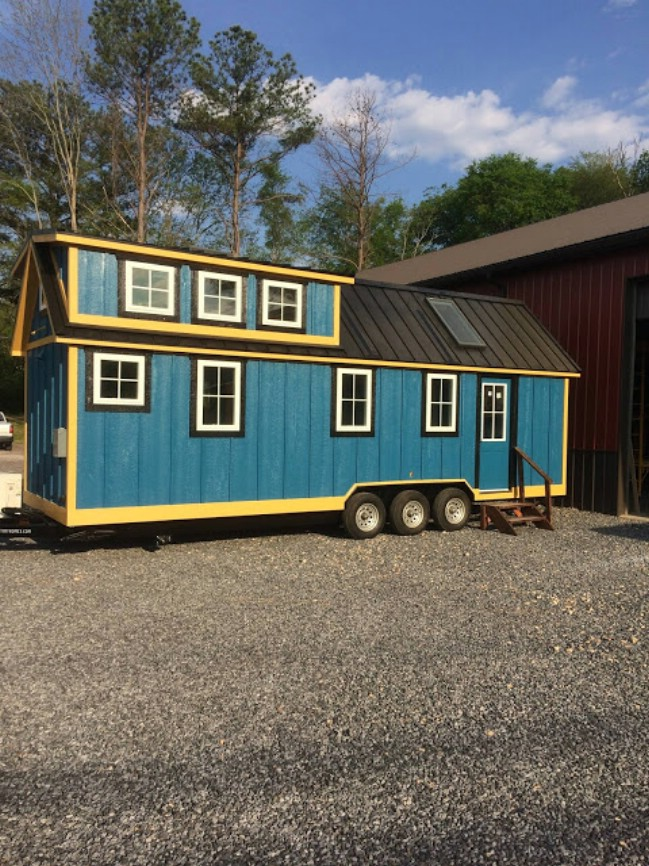 Young Family Designs Blueridge Tiny House with Timbercraft Tiny Homes
