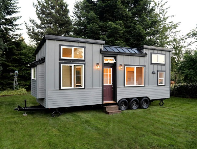 handcrafted movement releases stunning pacific pioneer tiny house tiny houses. Black Bedroom Furniture Sets. Home Design Ideas