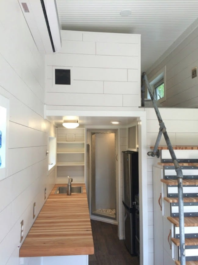 the skinny tiny house by small dwellings company for sale at 30000 - Tiny Dwellings