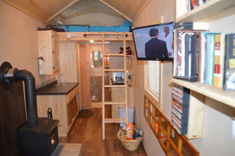 Fully Furnished 200 Square Foot Tiny House for Sale in Wisconsin