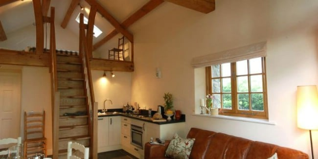 Barn Converted into an Unbelievable Tiny House