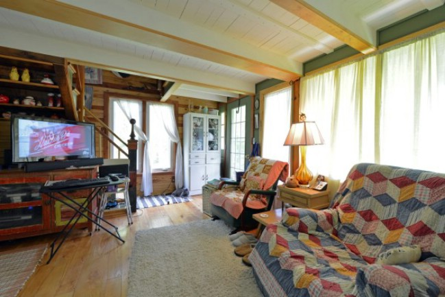 Ohio couple spend six years building eclectic 450 square for Tiny house for family of 4