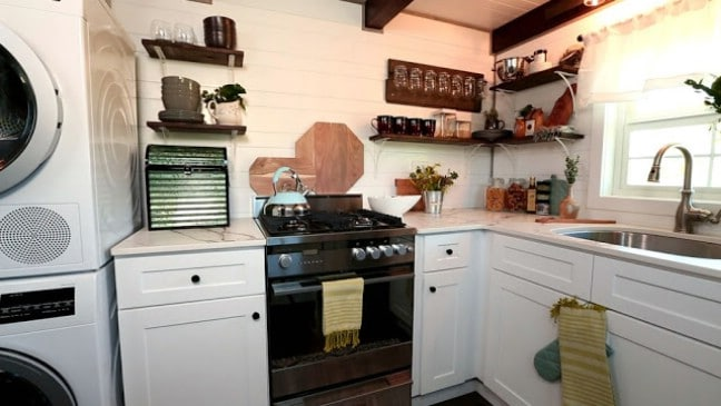 Expanding 325 Square Foot Tiny House by Timber Tech