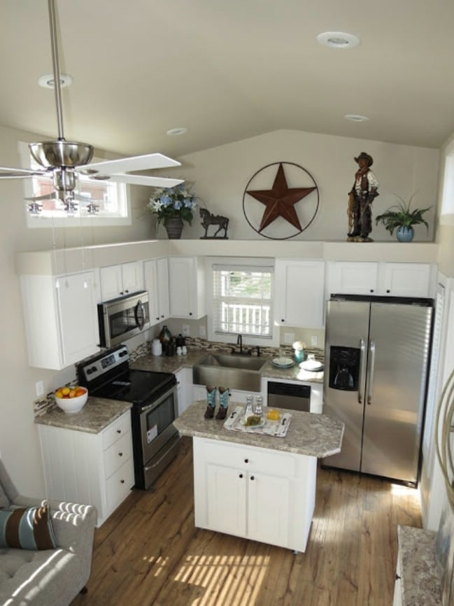 399 Square Foot Tiny House Complete with a White Picket Fence