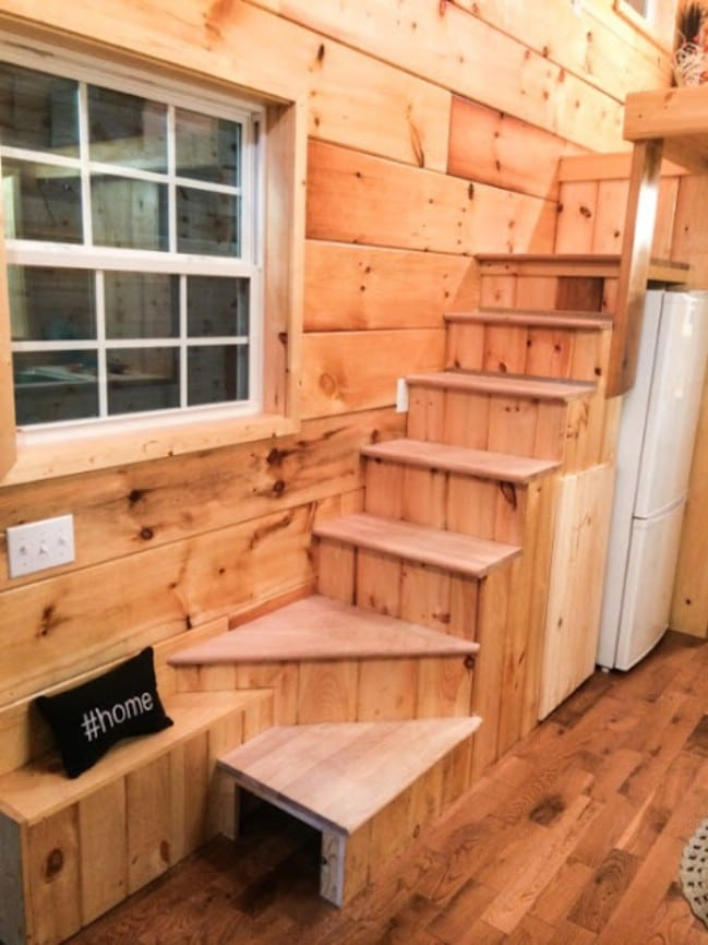 Southern-Inspired Tiny House by Incredible Tiny Homes