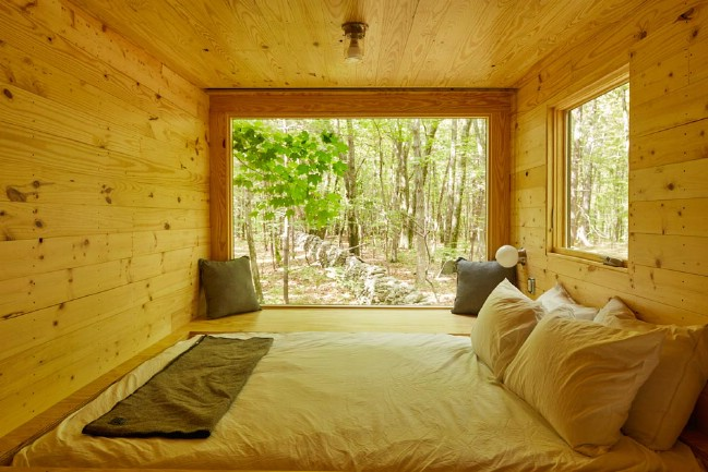 Get Away From It All in The Maisie Rental Tiny House in New York
