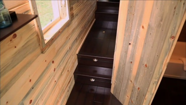 Newlyweds Build 264 Square Foot Tiny House to Suit Travel Nurse Lifestyle