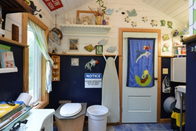 Ohio Couple Spend Six Years Building Eclectic 450 Square Foot Tiny House