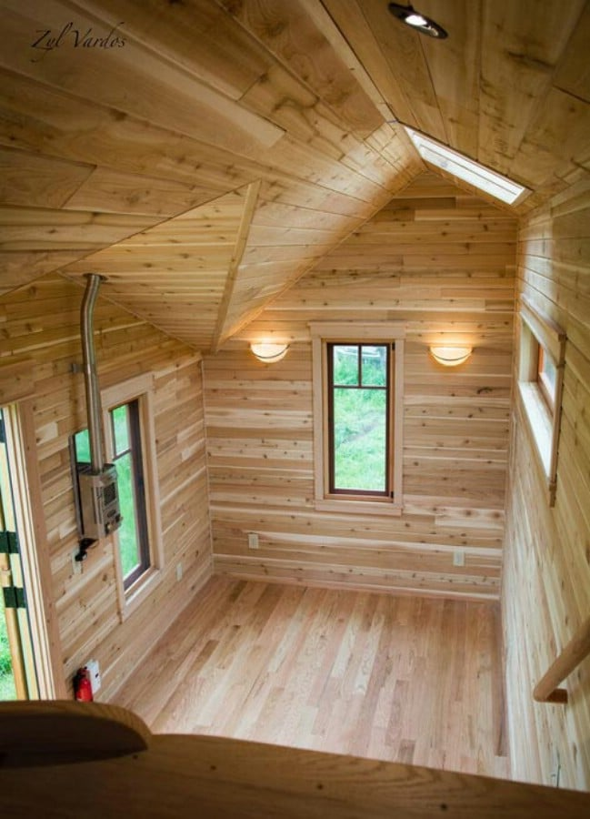Exquisite Tiny House with Handcrafted Details by Zyl Vardos