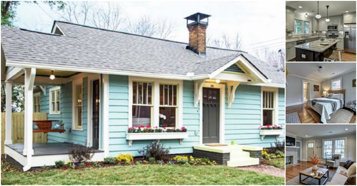 Atlanta Designer Gives Tiny House New Life In Living Color: designer houses