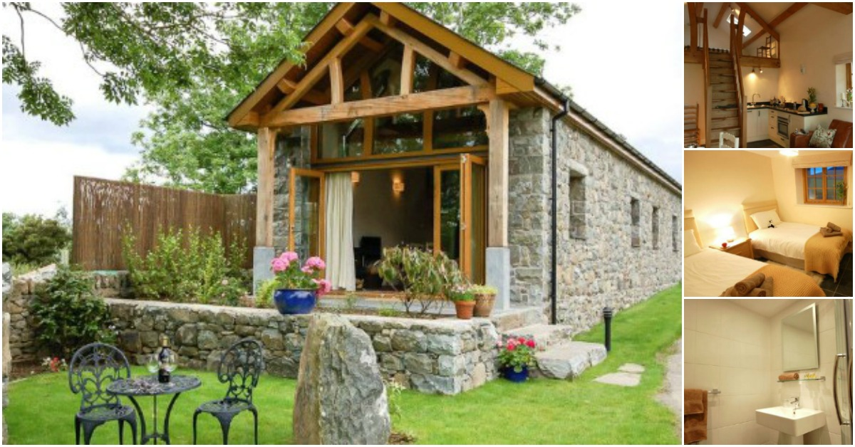 Book a vacation in this wales barn converted into an for Tiny house vacation home