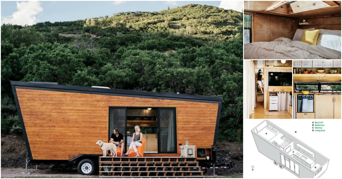 Tiny Home Designs: California Couple DIY Contemporary 236 Square Foot Tiny