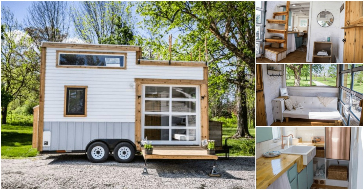 Gorgeous and trendy 200 square foot tiny house for sale for 200 sq ft deck