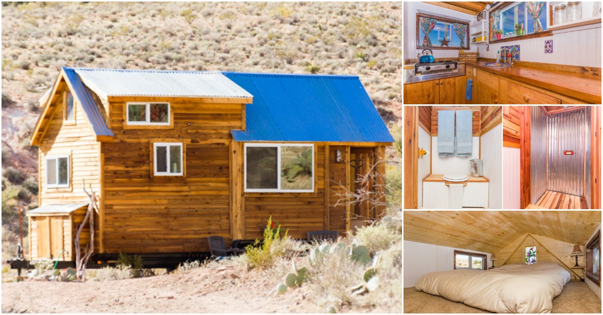 Rent This Tiny House On A Dude Ranch Outside Of Las Vegas