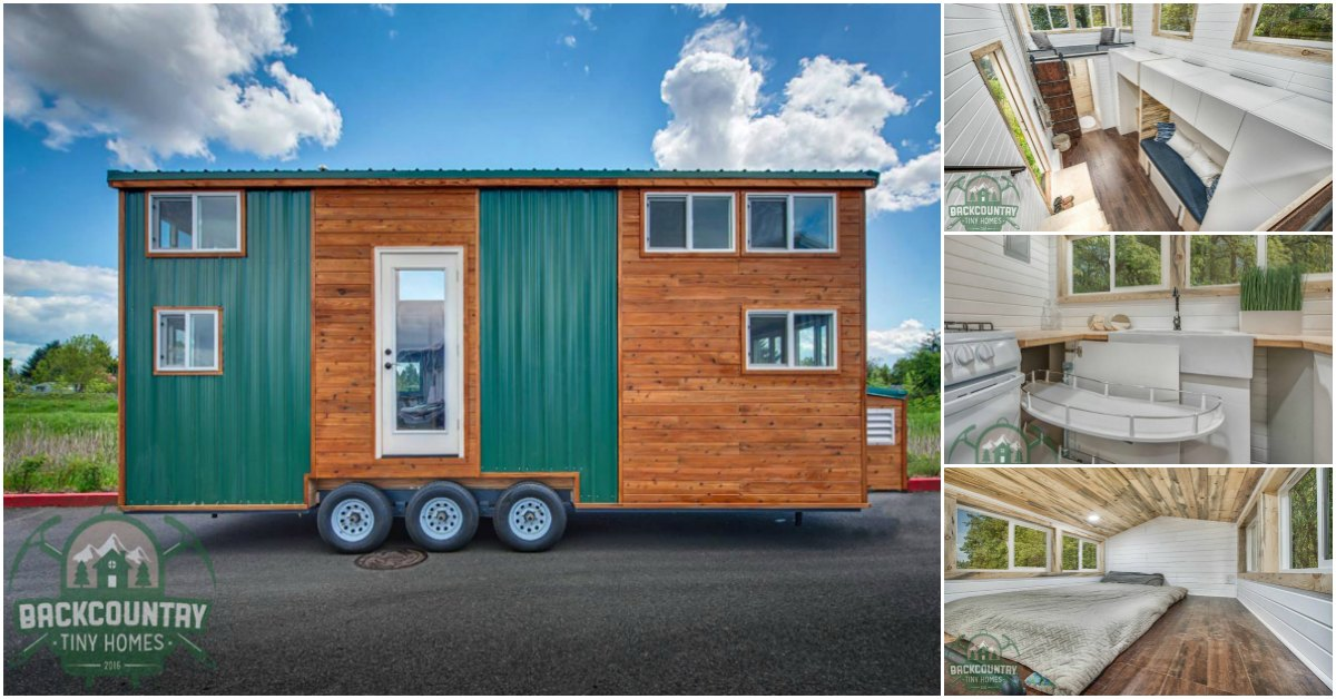Juniper tiny house packs tons of storage in less than 300 for Juniper house