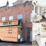 160 Square Foot Lindley Tiny House from North Carolina Company, Tiny Life Construction