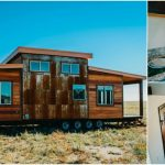 Rustic and Luxurious 328 Square Foot Mount Antero Tiny House