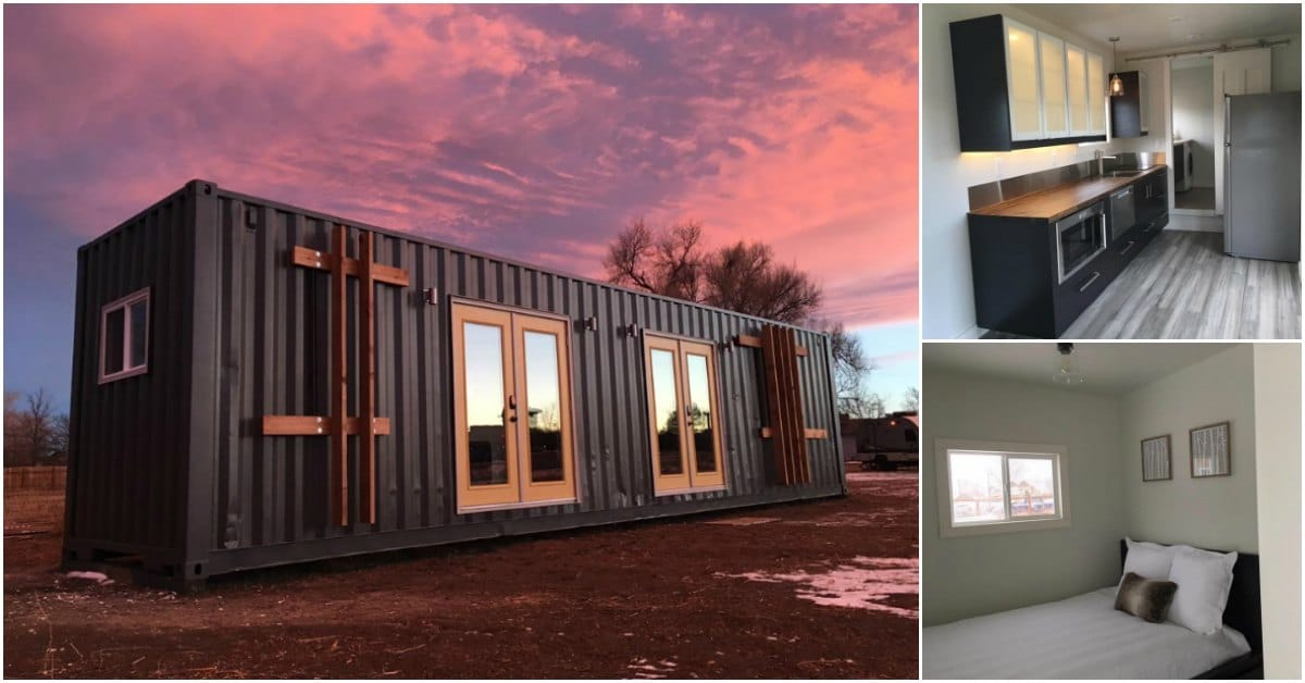 320 Square Feet Shipping Container Tiny House By