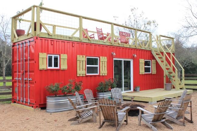 Backcountry Containers Co. Designs Rustic Tiny Houses from Shipping Containers