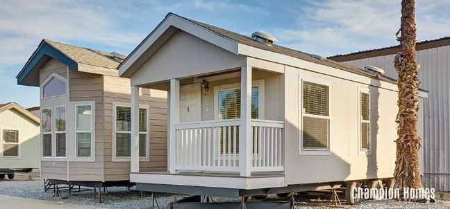 Gorgeous 399 Square Foot Champion Homes Tiny House for Sale in Sonoma, California