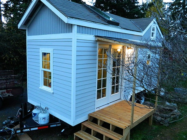 The Oregon Trail is a Fully Customizable Tiny House by Tiny SMART House
