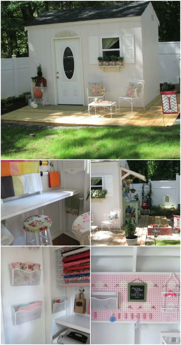 Add Some Feminine Touches - Top 80 Gorgeously Comfortable She Sheds and Backyard Tiny Houses