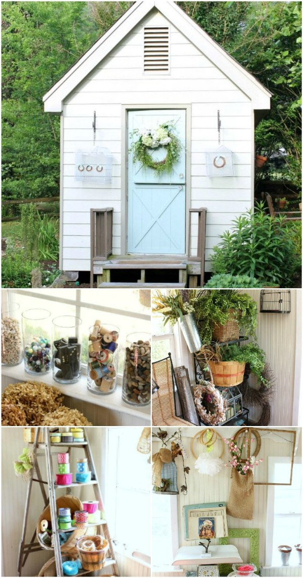 A Miniature Home - Top 80 Gorgeously Comfortable She Sheds and Backyard Tiny Houses