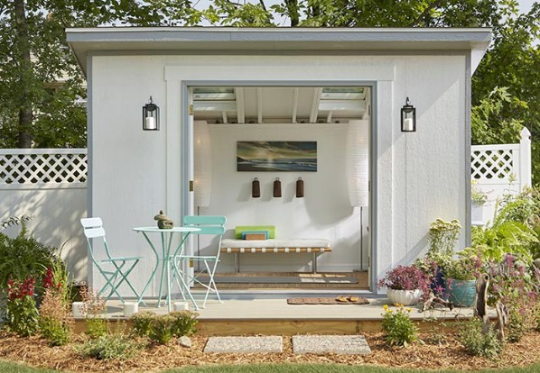 Here Is Another Take on the Contemporary She Shed Design - Top 80 Gorgeously Comfortable She Sheds and Backyard Tiny Houses