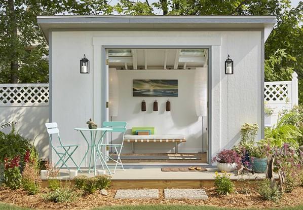 Εδώ είναι ένα άλλο Πάρτε για τη Σύγχρονη Σήκωσε Σχεδιασμός - Top 80 Gorgeously Άνετα Έχει υπόστεγα και Backyard Tiny Σπίτια