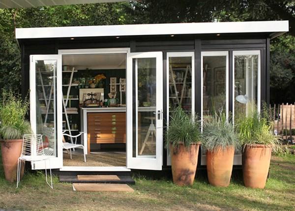 Βιβλιοπωλείο του Bookbinder - Top 80 Gorgeously Άνετα Έχει υπόστεγα και μικροσκοπικά σπίτια αυλή