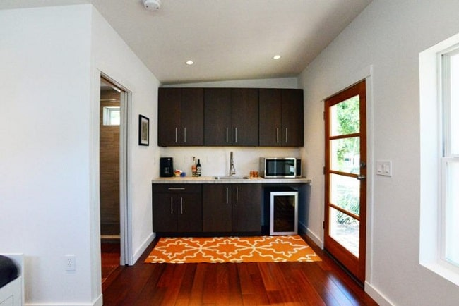 225 Square Foot Contemporary Tiny House For Sale In Austin