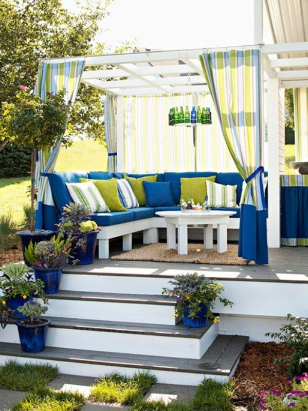 Convert a cabana - Top 80 Gorgeously Comfortable She Sheds and Backyard Tiny Houses