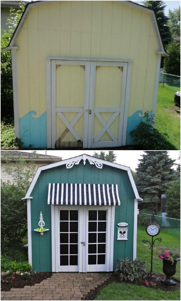 The $40 Shed Makeover - Top 80 Gorgeously Comfortable She Sheds and Backyard Tiny Houses