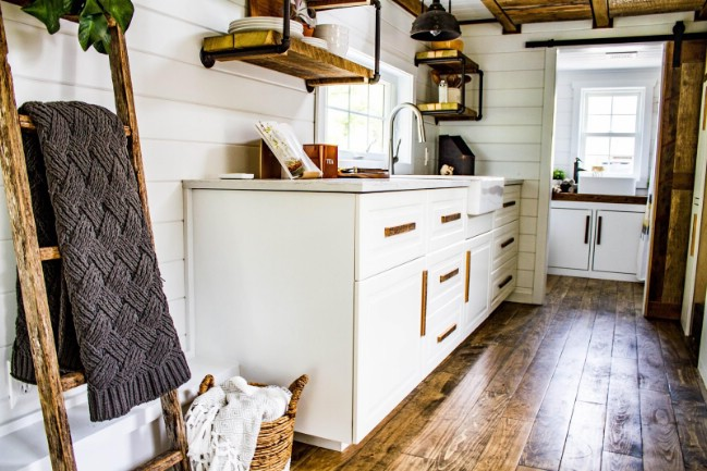 Modern and Light-Filled Tiny House by Liberation Tiny Homes