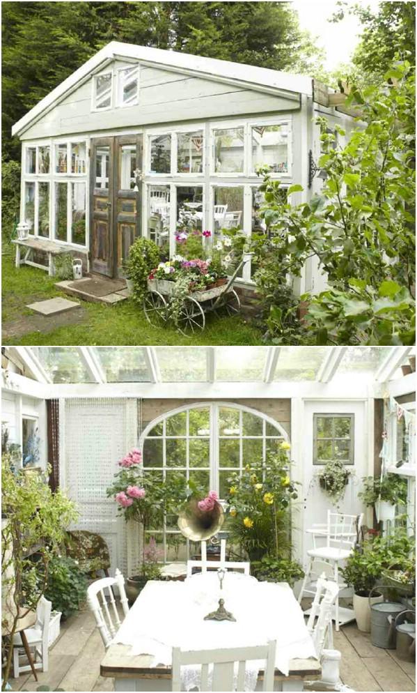 Παράδεισος έξω από το Λονδίνο - Κορυφαία 80 πανέμορφα άνετα στεγάζει και μικρά σπίτια της αυλής