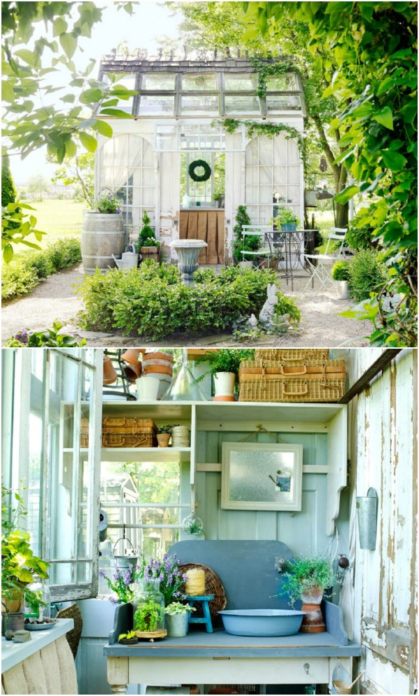 Donna's Chic She Shed - Top 80 Gorgeously Comfortable She Sheds and Backyard Tiny Houses