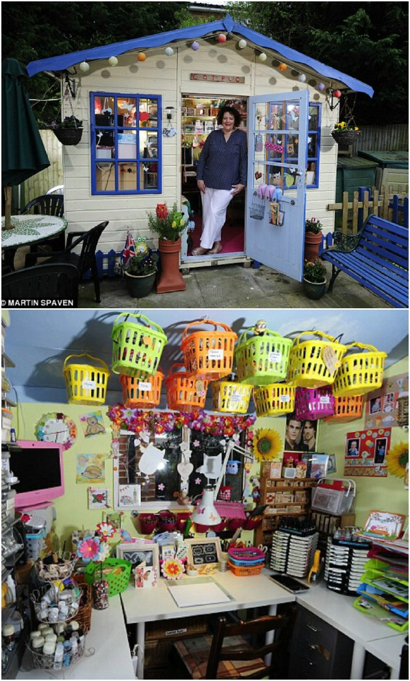 Crafting Cottage - Top 80 πανέμορφα άνετα στεγάζει και μικρά σπίτια στην αυλή