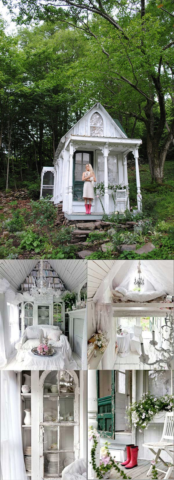Potter's Paradise - Top 80 Gorgeously Comfortable She Sheds and Backyard Tiny Houses