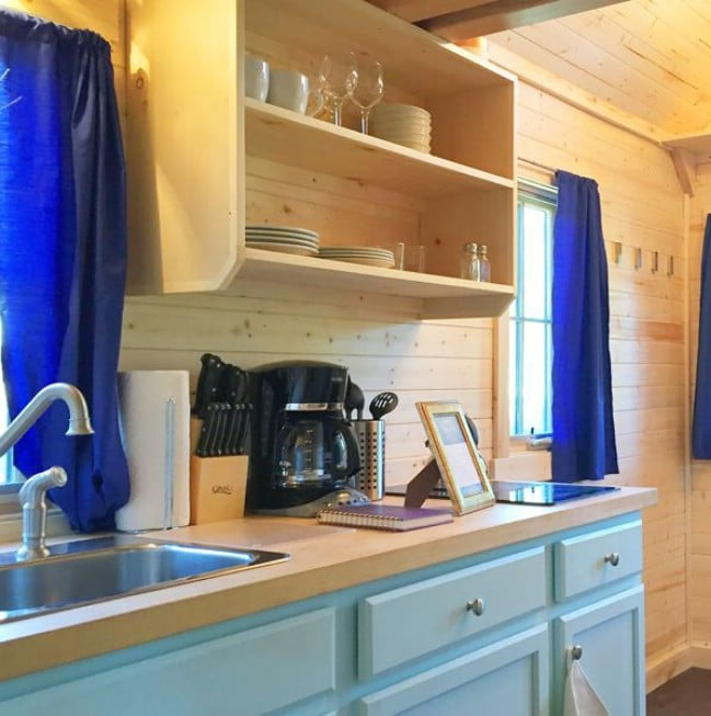 307 Square Foot Belle Rental at Leavenworth Tiny House Village