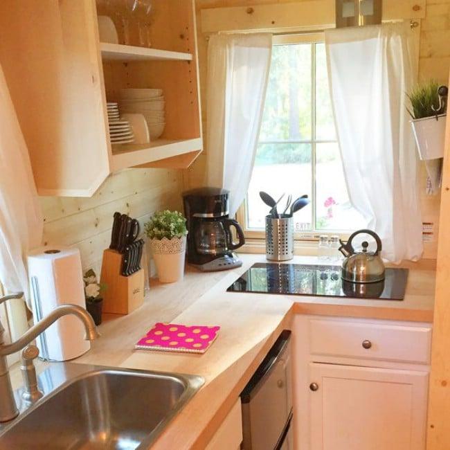 181 Square Foot Hanna Rental At Leavenworth Tiny House