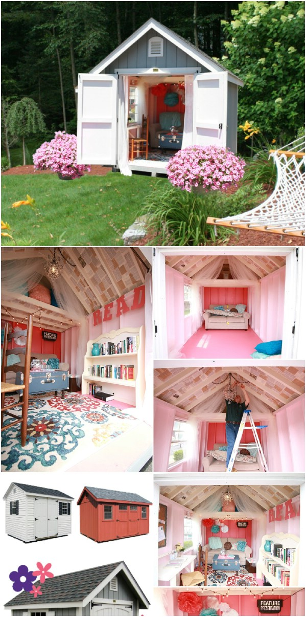 The Ultimate Reading Nook - Top 80 Gorgeously Comfortable She Sheds and Backyard Tiny Houses