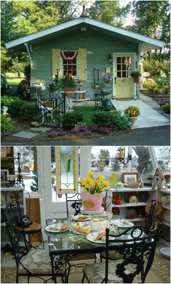 From Shabby Shed to Antique Shop - Top 80 Gorgeously Comfortable She Sheds and Backyard Tiny Houses